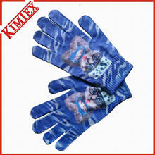 Customs Promotion Sublimation Printing Glove